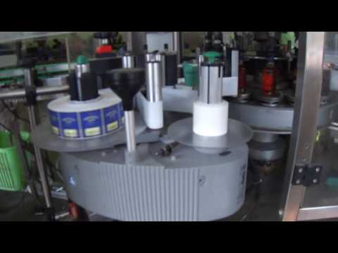 Automatic Liquid Bottling Line ( Feeding, Rinsing, Filling, Capping, Labeling Line)