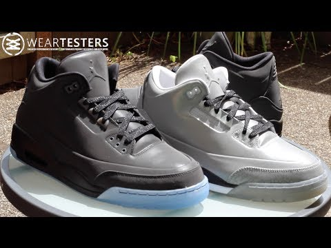 official photos f0277 828d8 Air Jordan 3 5Lab3  Black Reflective  - YouTube