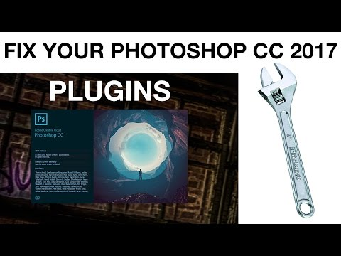 Getting your Plugins back with Adobe Photoshop CC 2017 (and 2015)