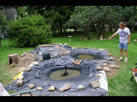Water Garden Construction Youtube