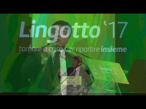 Il discorso conclusivo di Matteo Renzi al Lingotto