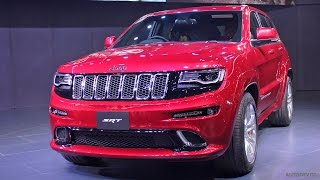 First Look - Jeep Grand Cherokee SRT - Auto Expo 2016
