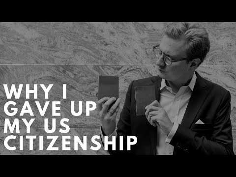 Why and how I renounced US citizenship
