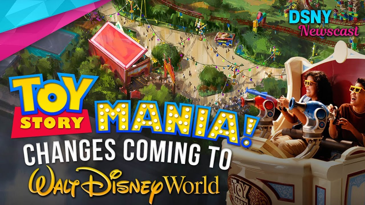 Toy Story Land Upcoming Changes To Toy Story Mania At Walt Disney