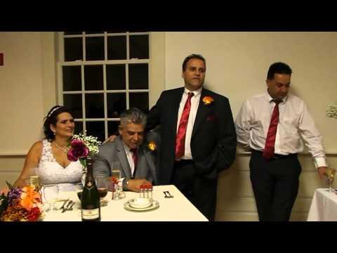 The speech ( Andreia/ Kdu wedding)