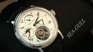 a quick look at 1 minute carousel Tourbillon from Sea-Gull.