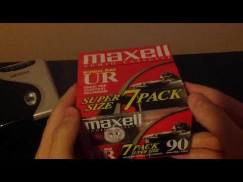 18 X BLANK AUDIO CASSETTE TAPES NEW & SEALED MAXELL TDK & SKY C90 JOB LOT BNIB from YouTube · Duration:  31 seconds