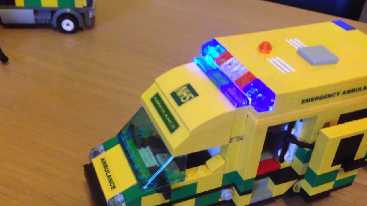 Lego uk ambulance moc youtube - Lego ambulance ...