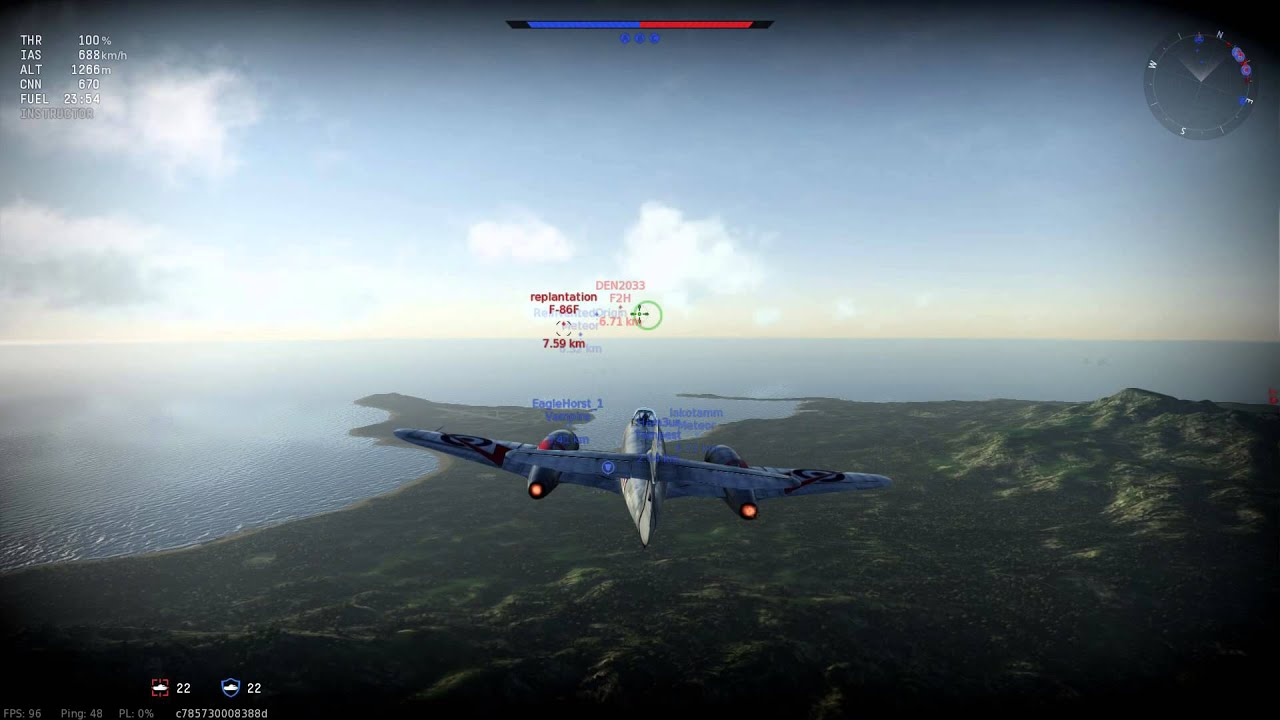 War Thunder - NEW PC! - Meteor Gameplay - YouTube