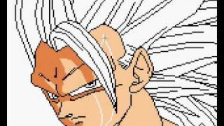 Drawing Goku ssj3 in MS Paint(Competition with ELGUERREROSOLITARIO1)