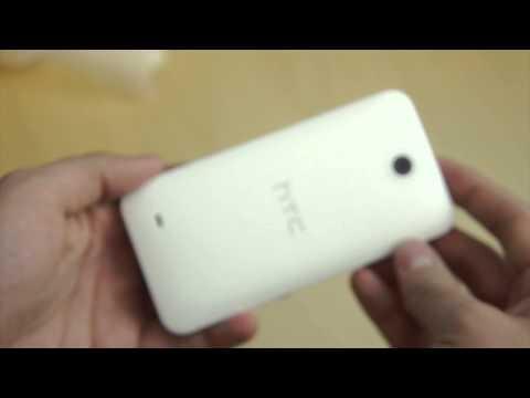 Распаковка HTC Desire 300