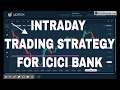 ICICI Bank Intraday live trading - Vlog Aug 24th
