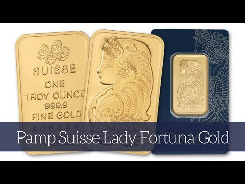 Pamp Suisse Lady Fortuna Gold Bar