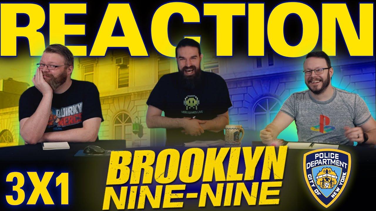 "Download Brooklyn Nine-Nine 3x1 REACTION!! ""New Captain"""