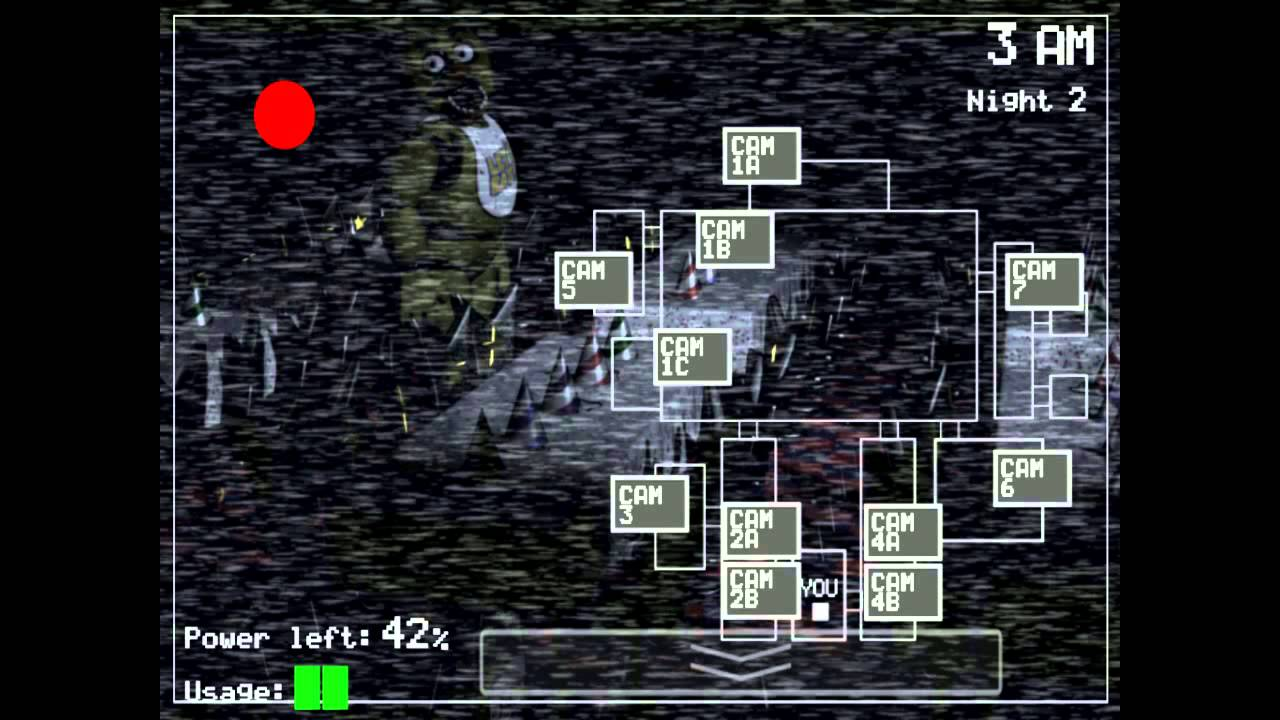 Five Nights At Freddy's Game Sounds #Monitor Pulled Up