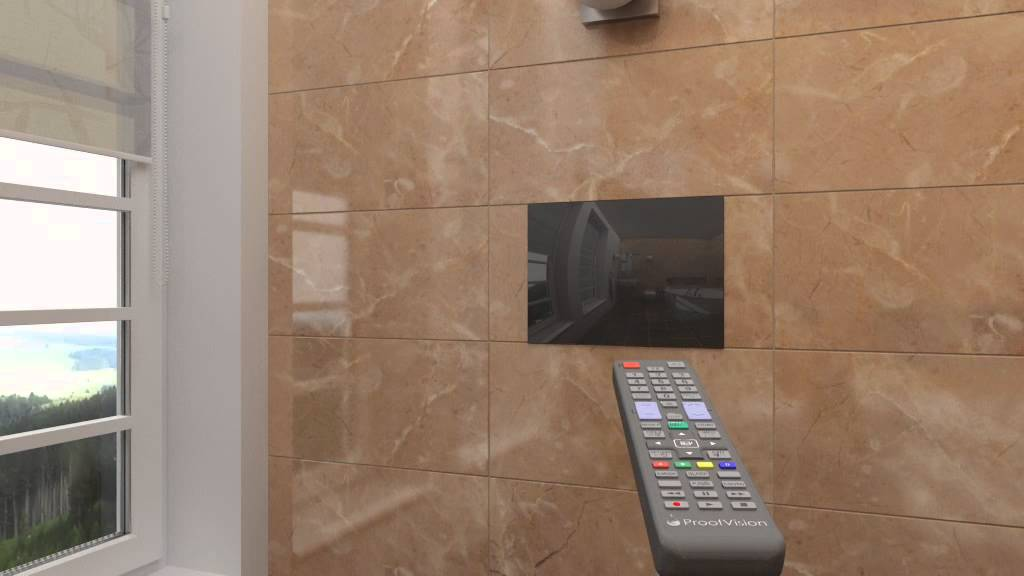 Bathroom Television Installation  YouTube