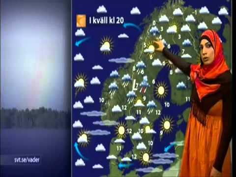 Velsete Swedish weather report - YouTube HA-18