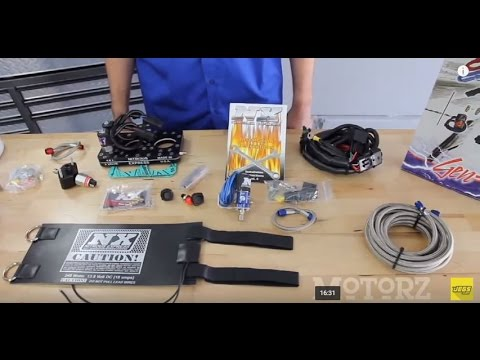 How To Install a Nitrous Express System Tutorial Instructions Overview