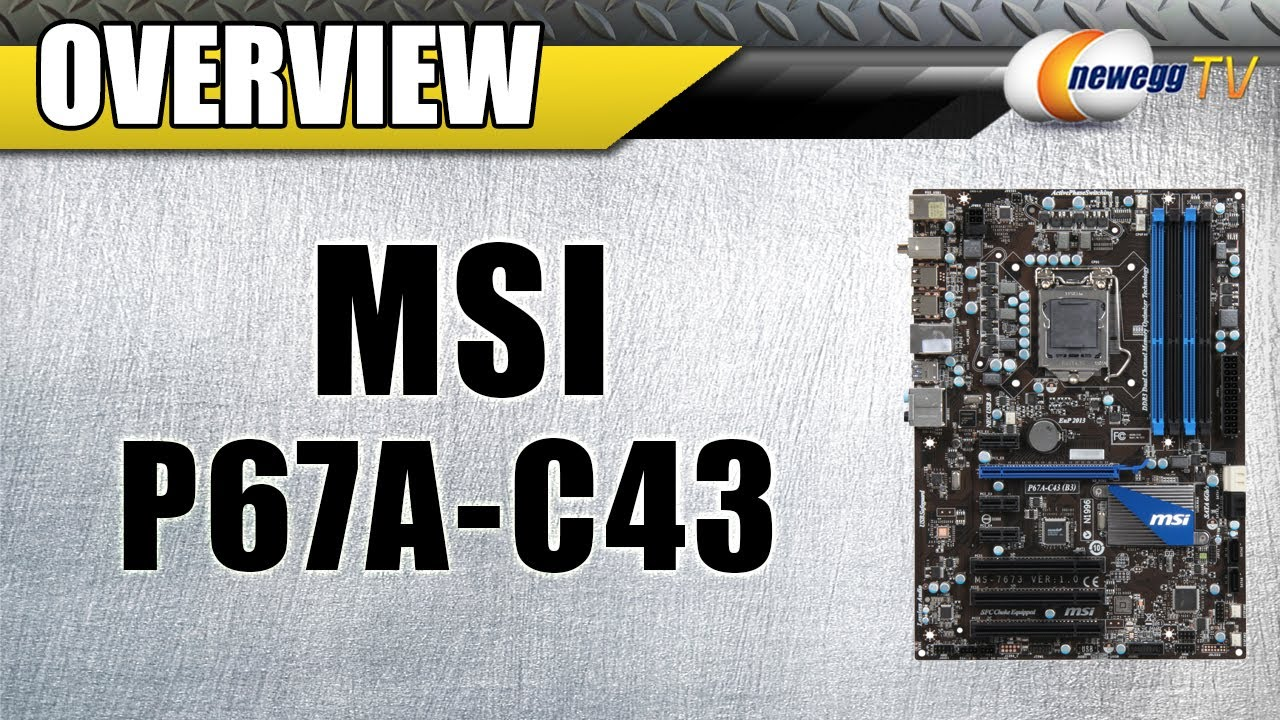 MSI P67A-C43 (B3) CONTROL CENTER II DRIVERS FOR WINDOWS DOWNLOAD