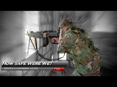 How Safe Were We? Flak Vest Destruction