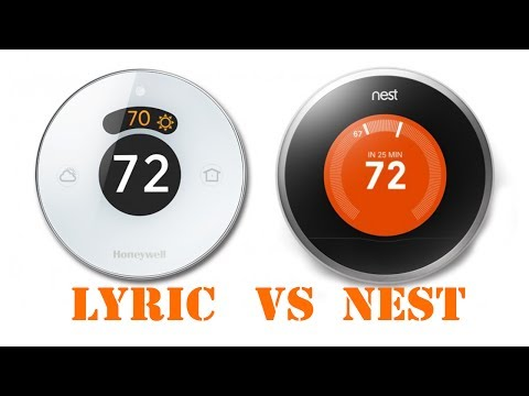 Honeywell Lyric vs Nest Thermostat Unboxing, Installation and Review
