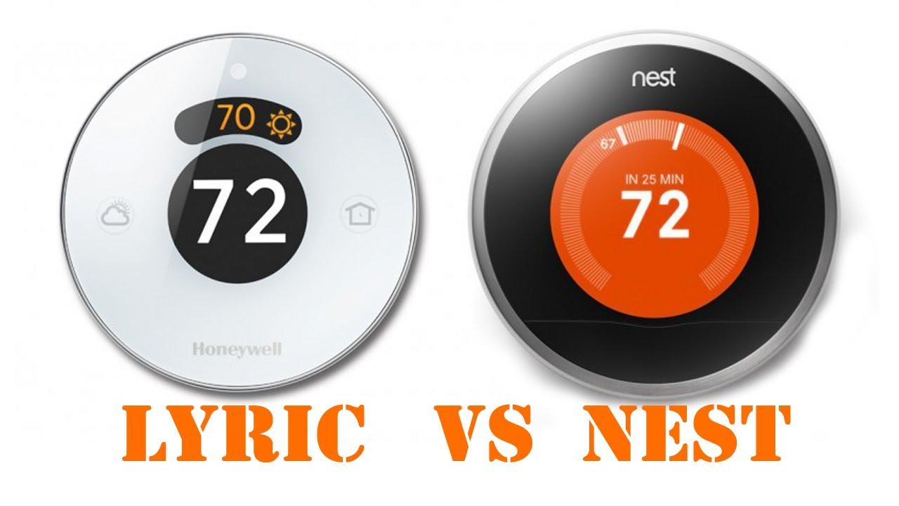Honeywell Lyric Vs Nest Thermostat Unboxing Installation
