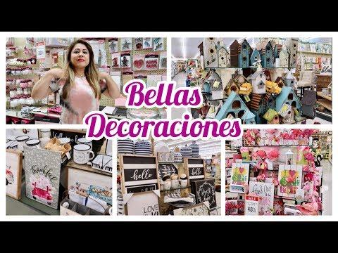 TOUR POR TIENDA HOBBY LOBBY// RECORRIDO PARA VER DECORACIONES #decoracionesparatodoslosestilos