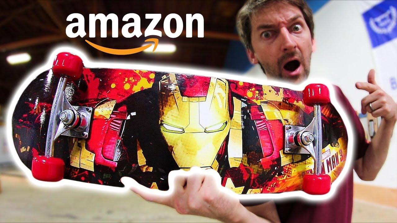THE CHEAPEST SKATEBOARD ON AMAZON!   CHEAP SKATES EP 11