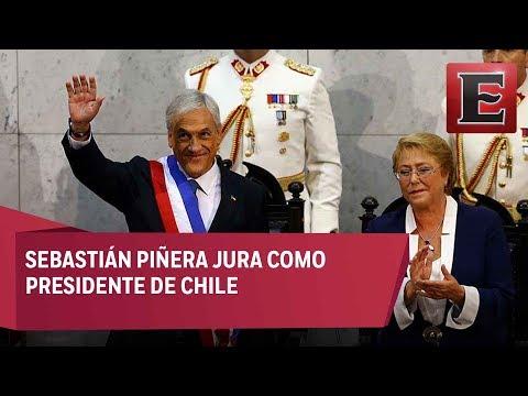 Sebastián Piñera asume, por segunda vez, la presidencia de Chile