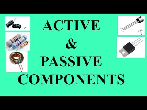 ACTIVE AND PASSIVE COMPONENTS | EDC | BSNL JE(TTA) | JTO | ENGINEERING EXAMINATIONS