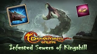 Drakensang Online [ Infested Sewers of KingShill ] New Event - !New Epic Mount! - marianus
