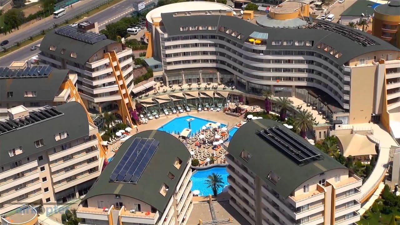 Alaiye Hotel Resort Spa Hava Cekim Sahneleri Youtube