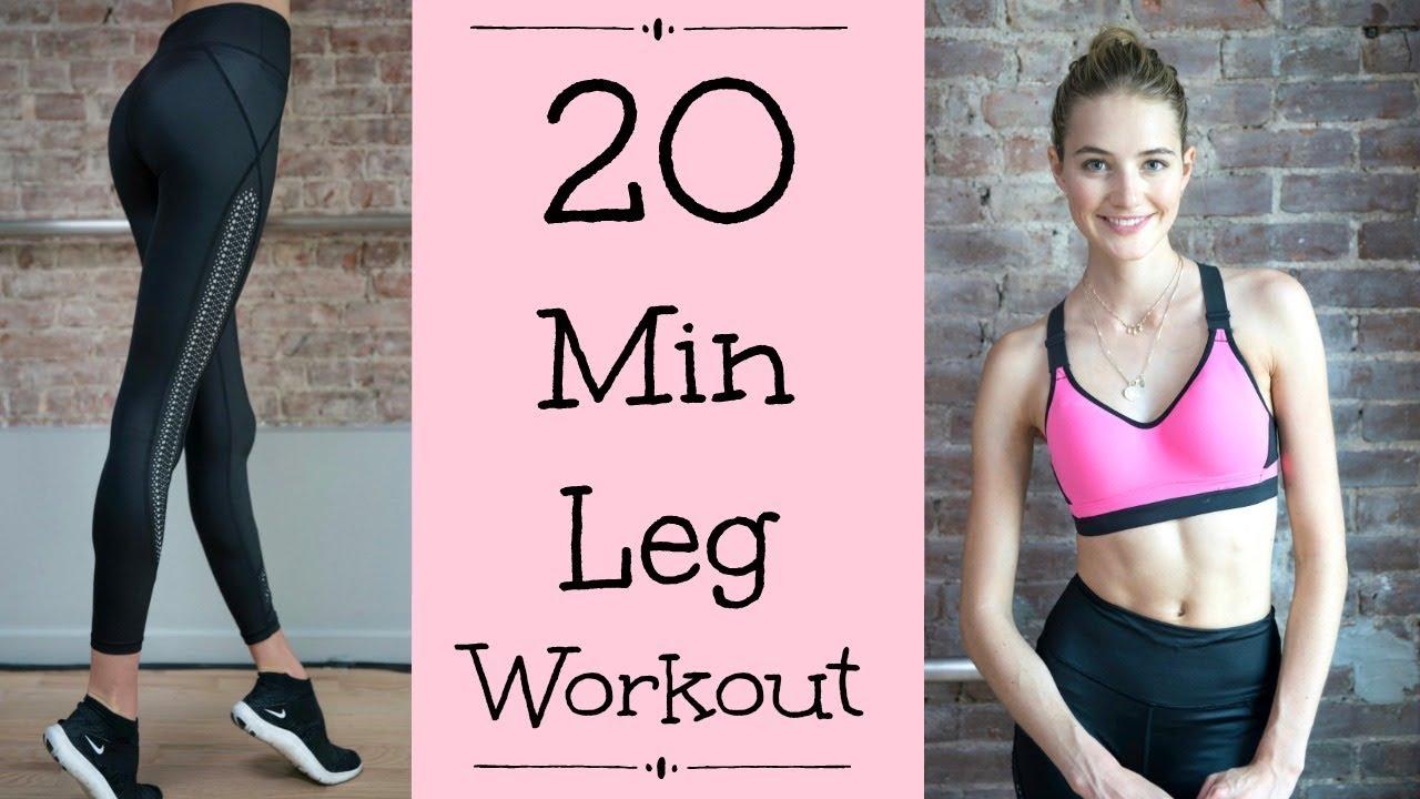 20 Minute Lower Body Model Workout | Butt, Thighs, & Legs | Sanne Vloet