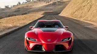 Toyota Supra FT1 Test Drive