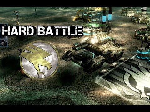 Command & Conquer 3 Kane's Wrath - 3v3 Hard AI | Назад пути нет!!!