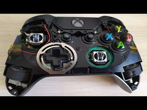 Полная разборка геймпада от Xbox One