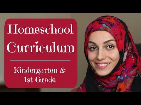 Homeschool Curriculum: 1st Grade & Kindergarten