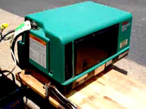ONAN 2800 MICROLITE RV GENERATOR GAS - YouTube