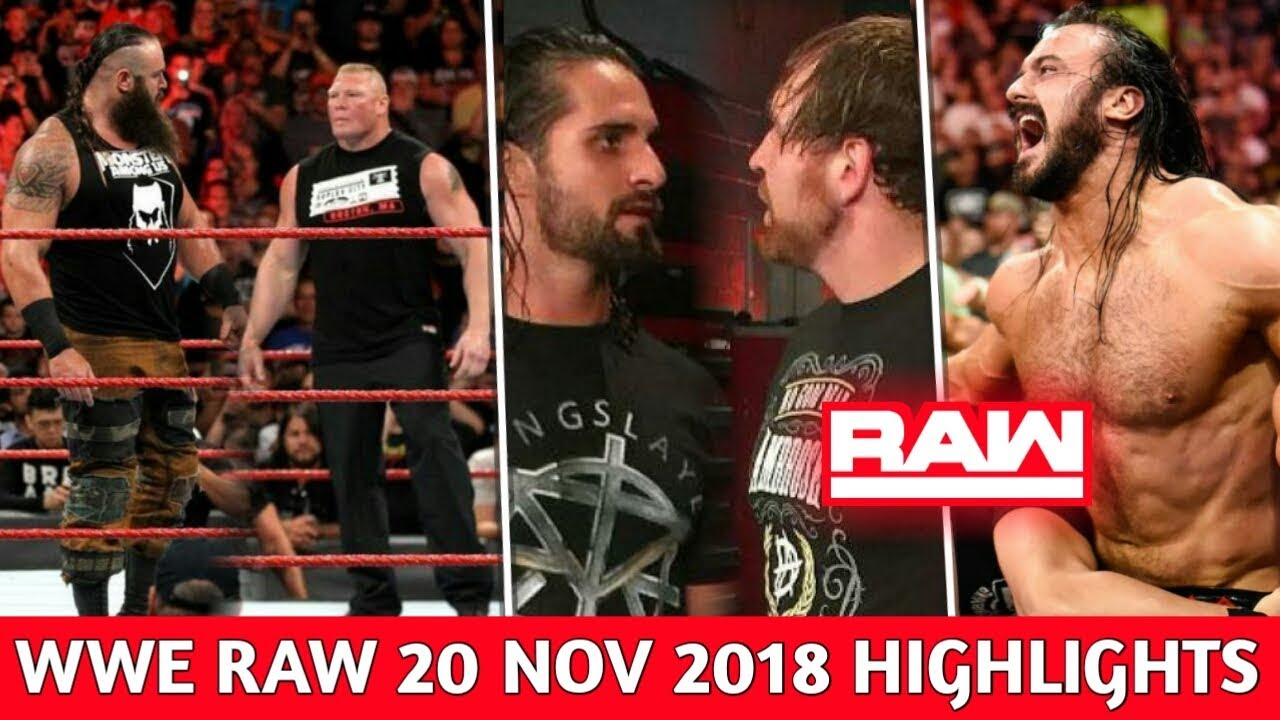 WWE Monday Night Raw 19 November 2018 Highlights ! Raw After Survivor Series 2018 ! WWE 11/20/18