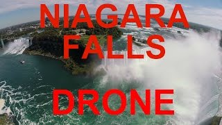 The BEST Niagara Falls Tour FLYING ABOVE by DRONE over falls with GoPro 3+ HD