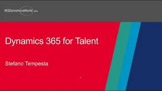 This recorded webinar provides an overview of microsoft dynamics 365 for talent from the talent, manager, and hr professional user perspective. get insight i...