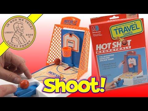 Hot Shot Basketball Rapid-Fire Travel Arcade Game - 동영상