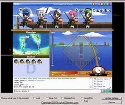 Gaia Online Auto Fisher RARES ONLY