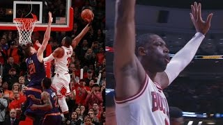 Dwyane Wade Dunks on Alex Len in Overtime! Suns vs Bulls