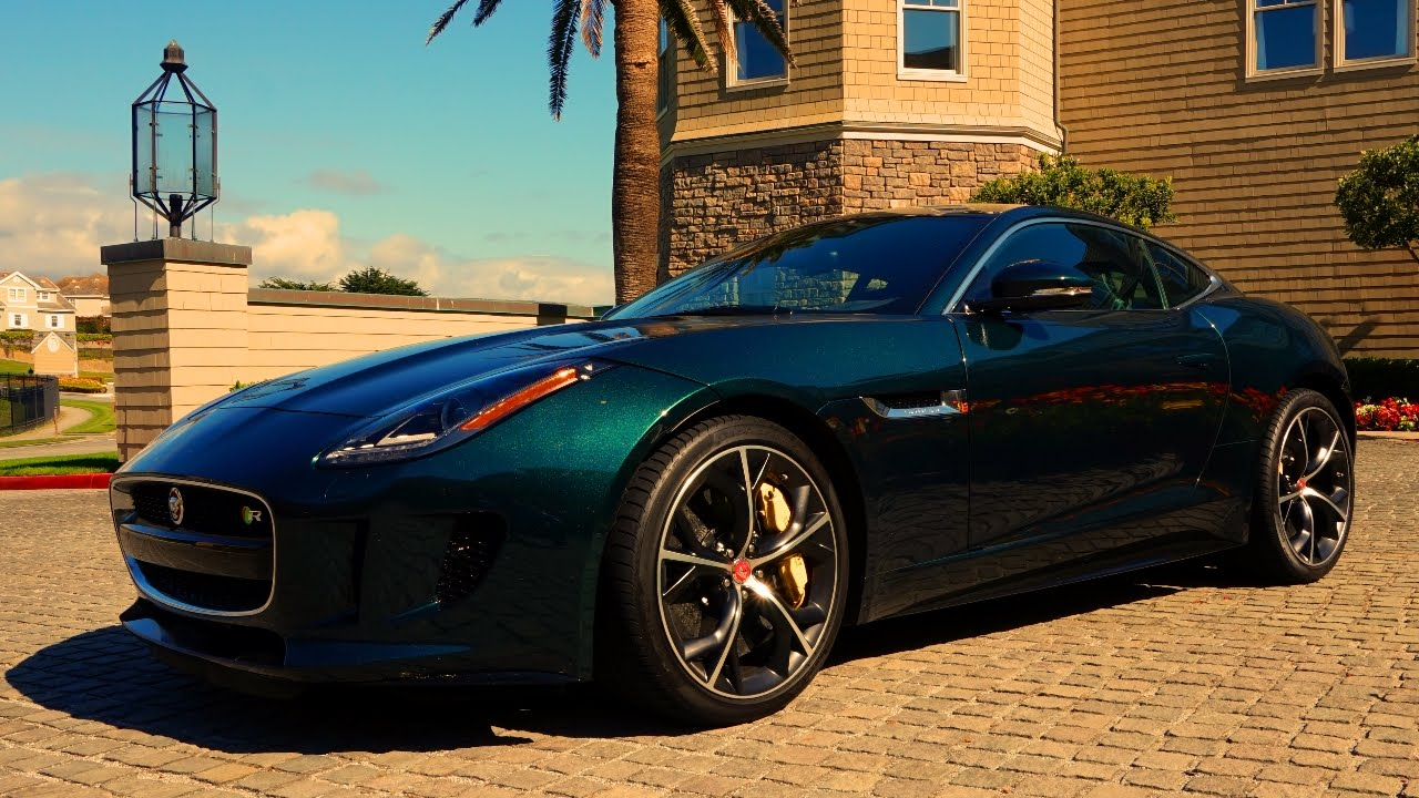 Lethal 550 HP 2015 Jaguar F Type R Coupe Walkaround And Drive Test   YouTube