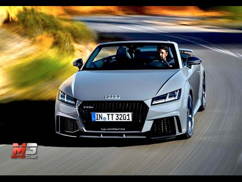 new audi tt rs roadster 2016 first test drive only crazy sound youtube. Black Bedroom Furniture Sets. Home Design Ideas
