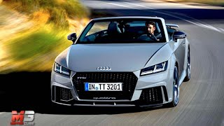 New audi tt rs roadster 2016 - first test drive only crazy sound
