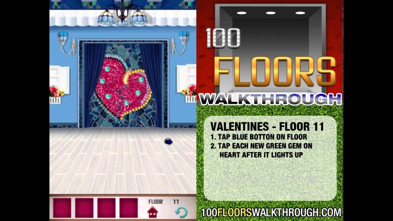 100 Floors Valentines Special Floor 11 Seasons Tower