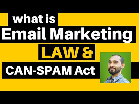 What Is Email Marketing - Can Spam Law & How Does It Works? - Lesson 2