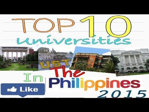 Top 20 Universities/Colleges in the Philippines 2015